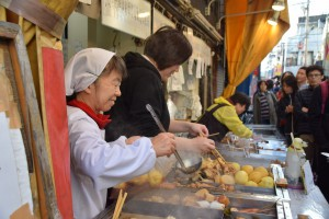 Tsukiji market food
