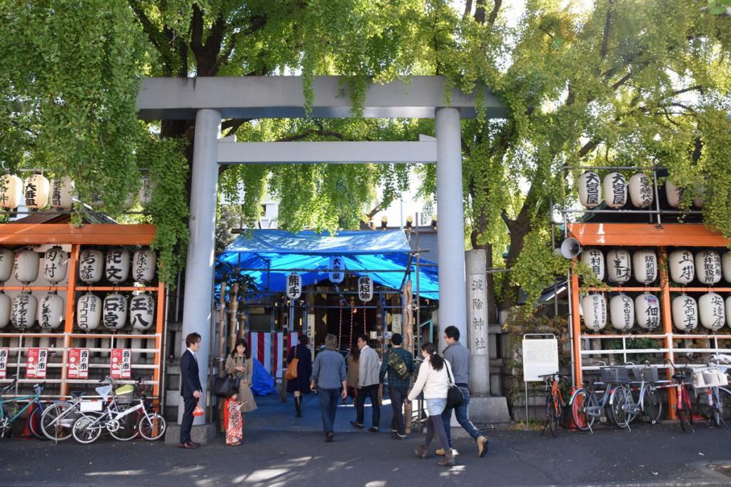 Namiyoke Inari Jinja Tsukiji market