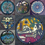 In Japan, even manhole covers can be art!!