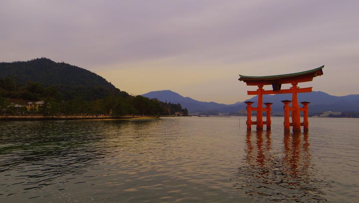 Hiroshima Miyajima Torii