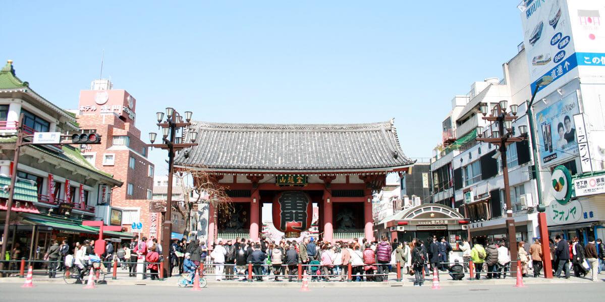 "Asakusa thunder gate ""KAMINARI-MON(雷門)"""