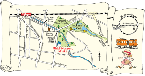 How to get to Ghibli Museum