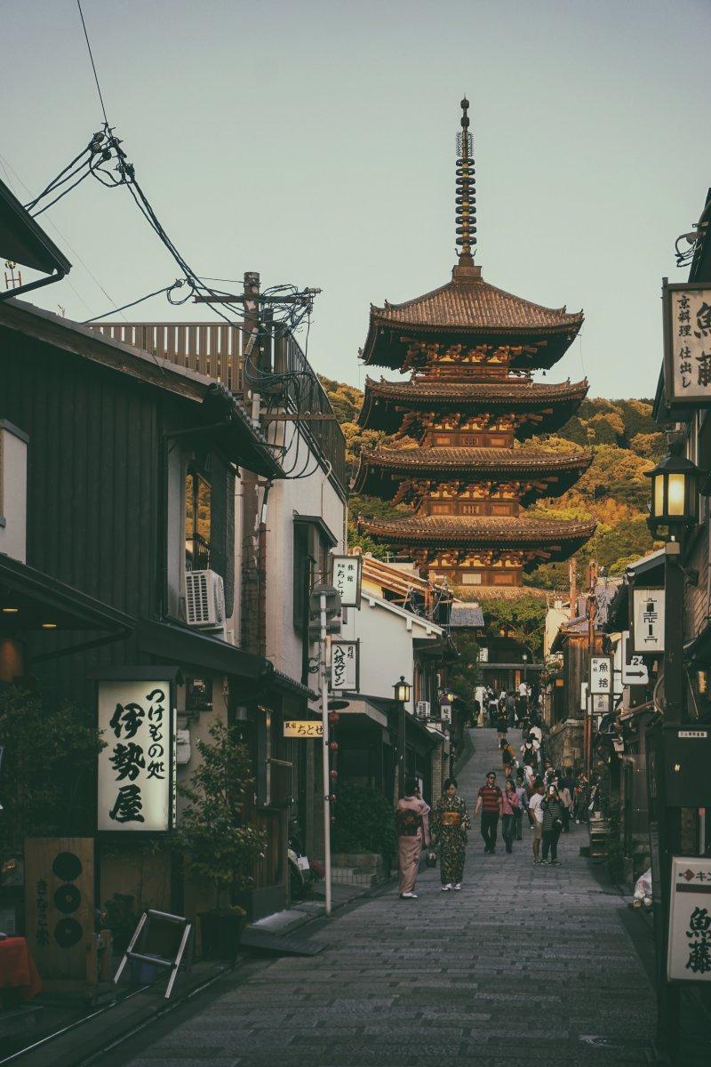 Pagode Yasaka Higashiyama Kyoto