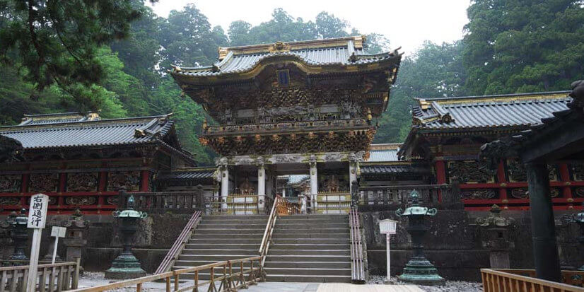 Nikko Toshogu Shrine Yomei Gate