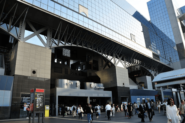 Kyoto Station, Bullet Train, Shinkansen, Crosta Kyoto, Transfer to Kyoto, Family Friendly Itinerary in Japan