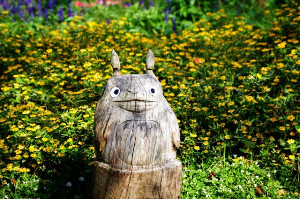 My neighbor Totoro Ghibli statue