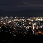 The best night view spot in Kyoto [easy access point ver.]