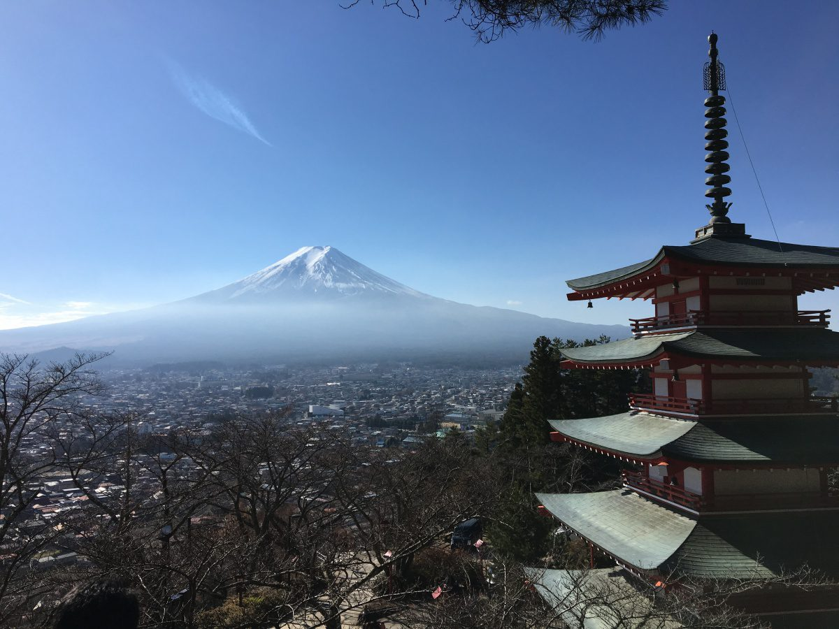 Mount Fuji Chureito Pagoda, Arakura Sengen Shrine, Mt. Fuji, Kawaguchiko, Lake Kawaguchi, Family Friendly Itinerary in Japan, Day Trip from Tokyo