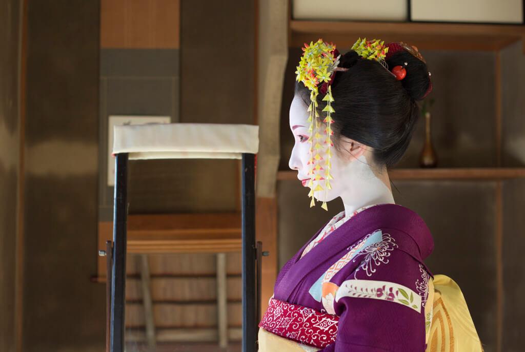 Geisha in Gion, Kyoto