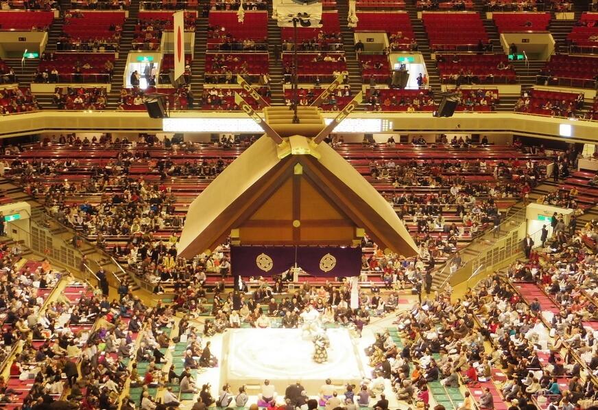 Ryokogu Kokugikan sumo stadium