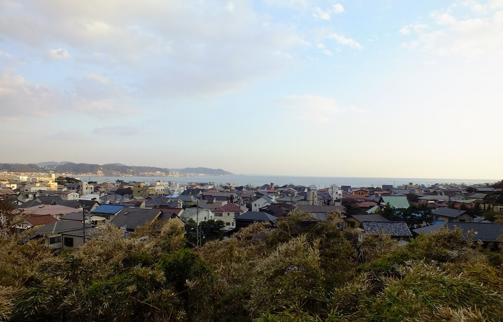 Kamakura from Hase temple