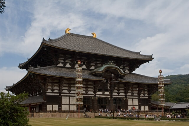 Daibutsu-den Hall (Main Hall) of Todai-ji Temple