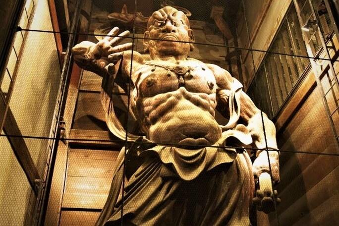 Kongo-Rikishi Statues Todaji temple