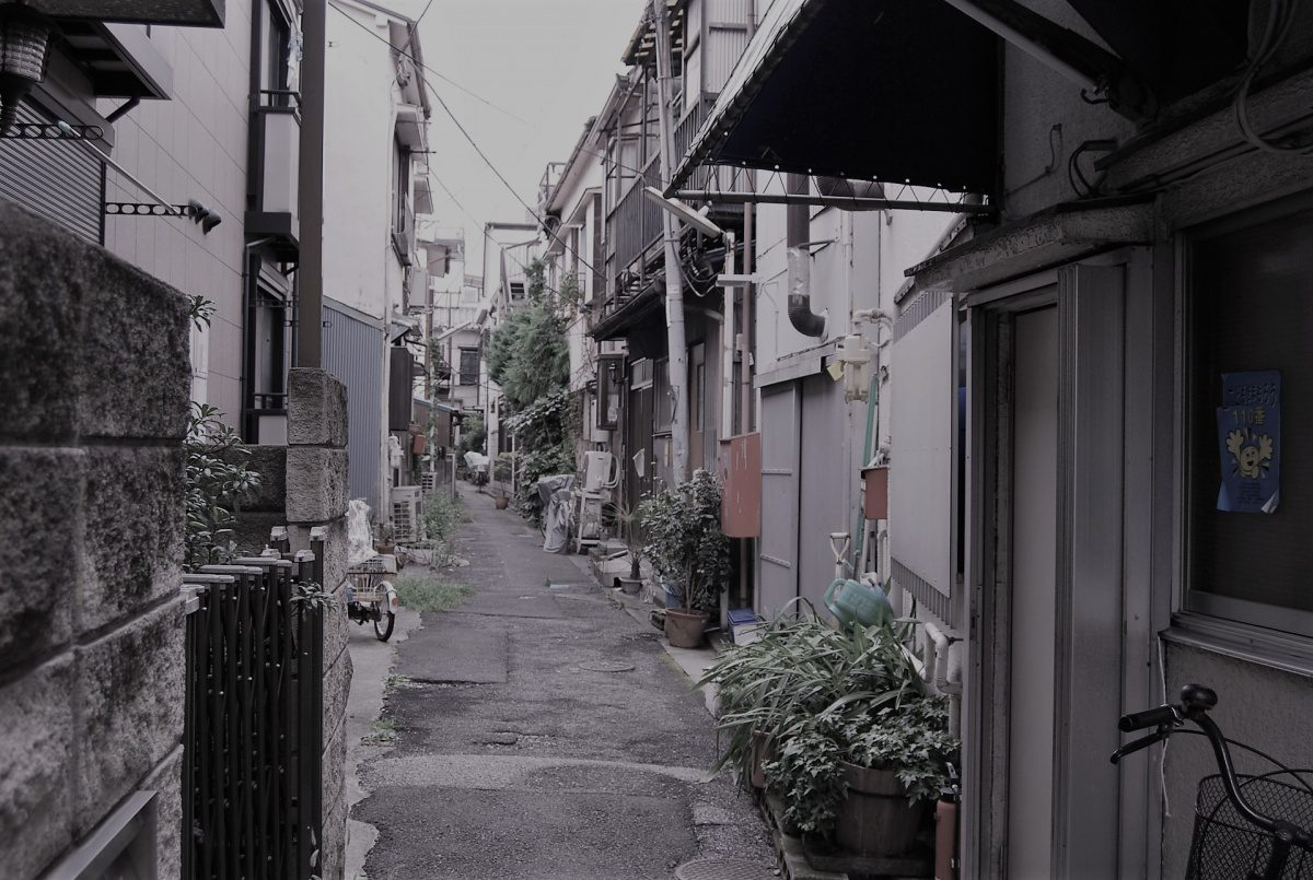 Shitamachi alley