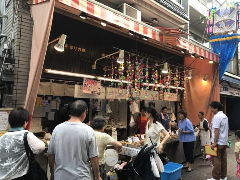 Sunamachi-Ginza delicatessen street