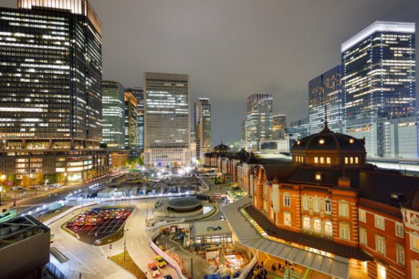 Tokyo Station And Ginza