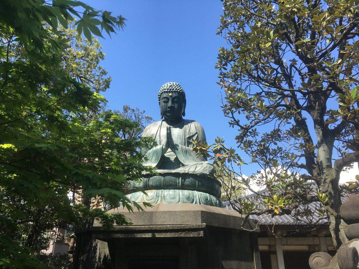 Buddha Tennoji temple Yanaka