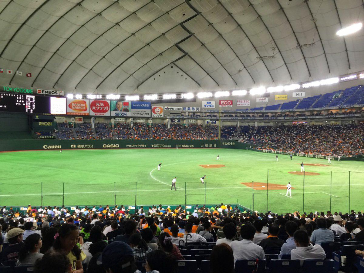 Baseball Tokyo Dome