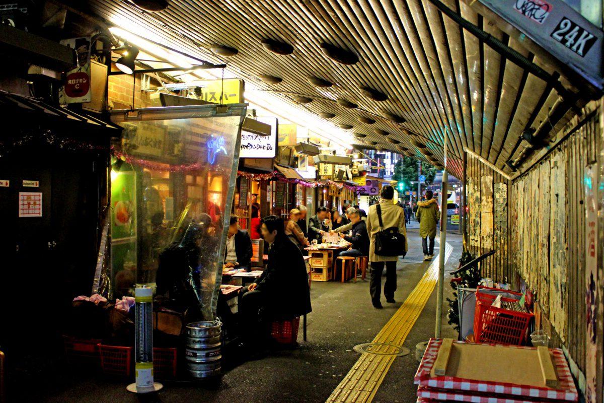 Yurakucho restaurant street