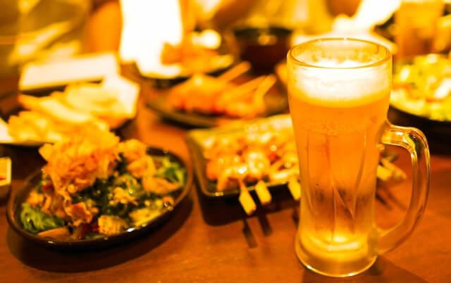 Izakaya beer food