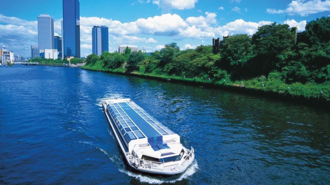 Osaka Castle, Aqualiner, Nakanoshima, River Cruise, Kita, Family frinedly Itinerary in Japan