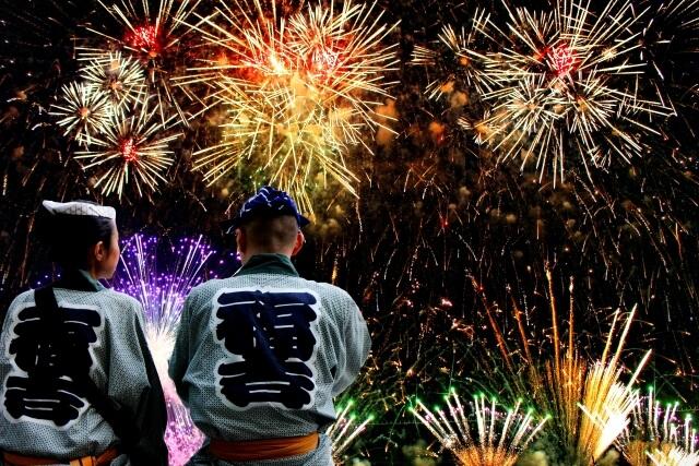 Fireworks hanabi