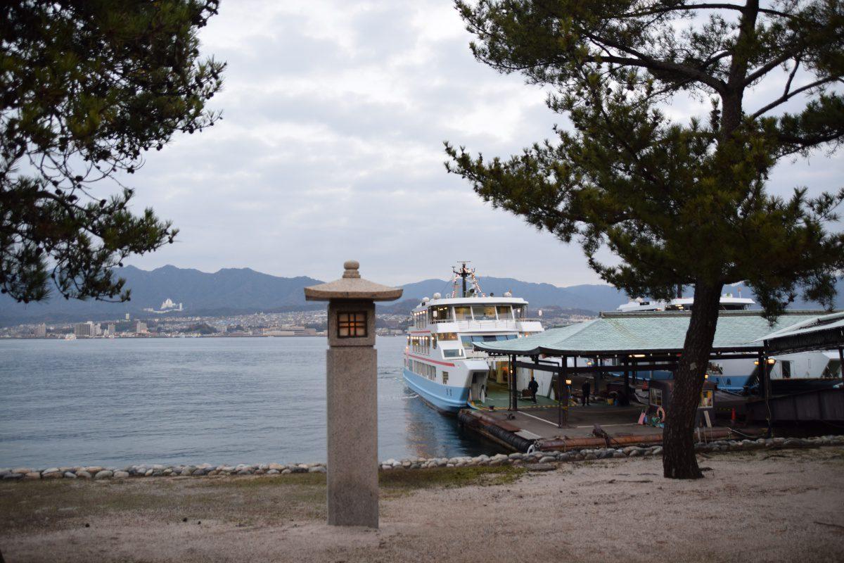 Miyajima ferry Hiroshima