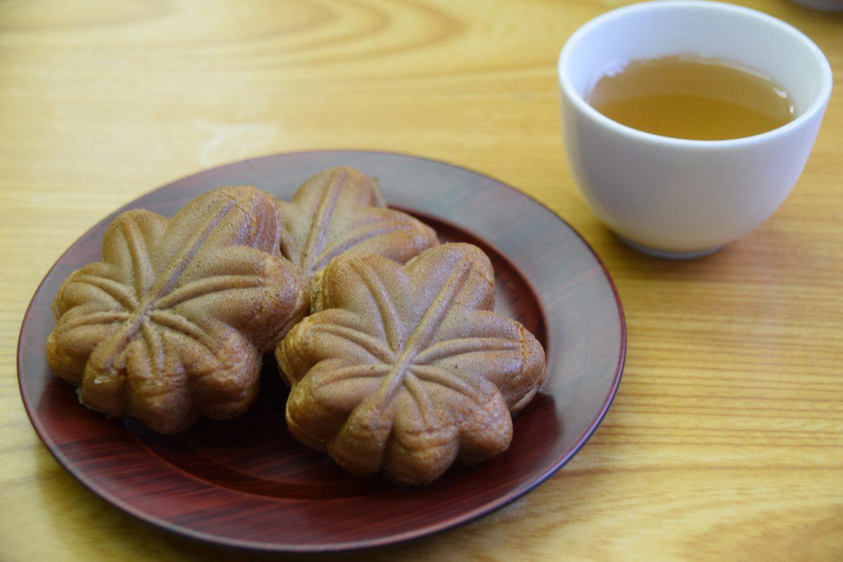 Momiji-Manju, specialty from Miyajima