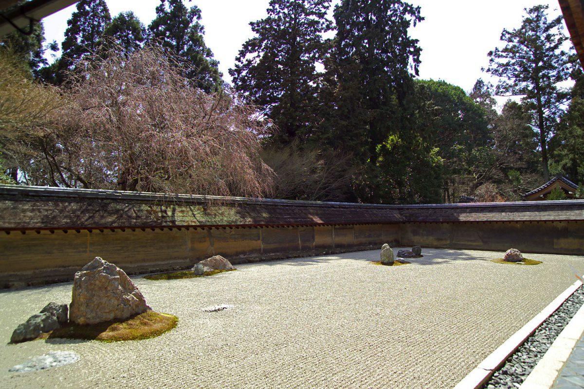 Dry Rock Garden Ryoanji temple