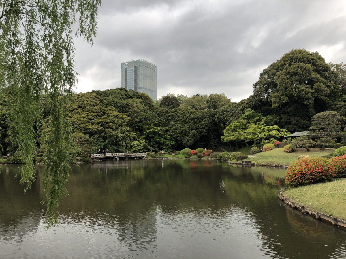 Shinjukugyoen-park
