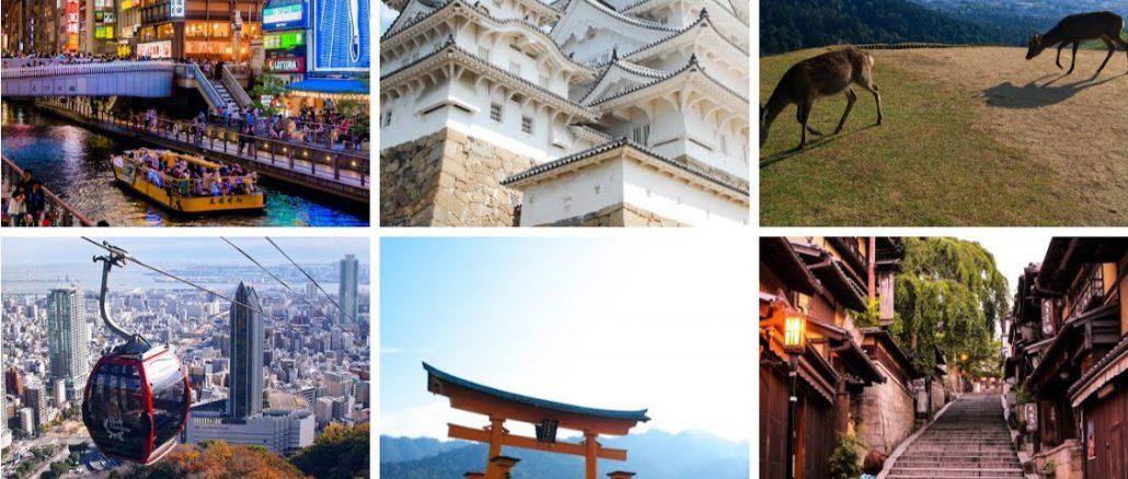 Kansai region header