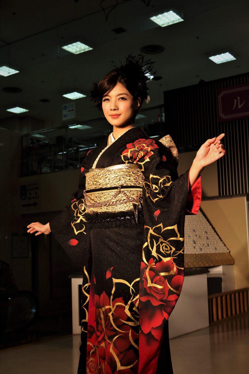 kimono show kyoto