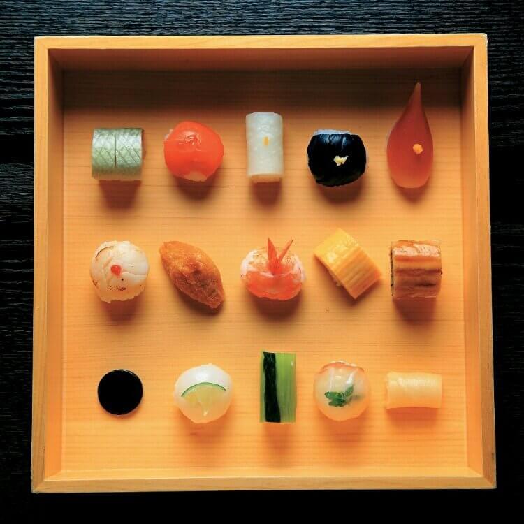 Sushi Gion Mametora Kyoto