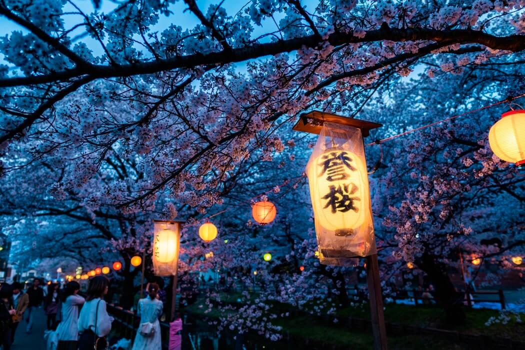 Kawagoe lights