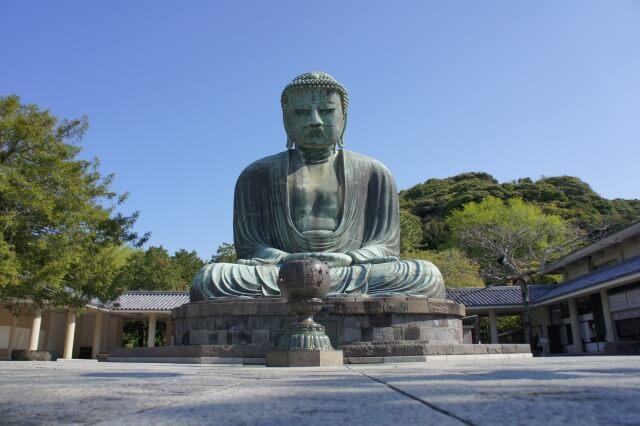 Kotokuin temple, The Great Buddha, Kamakura Daibustu