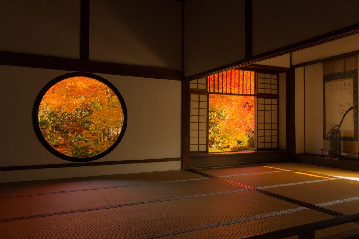 Autumn foliage Genko-an Temple Kyoto