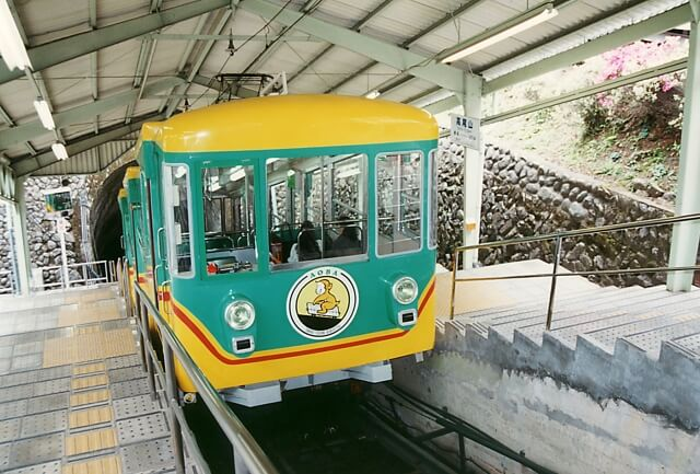 Mount Takao cable car
