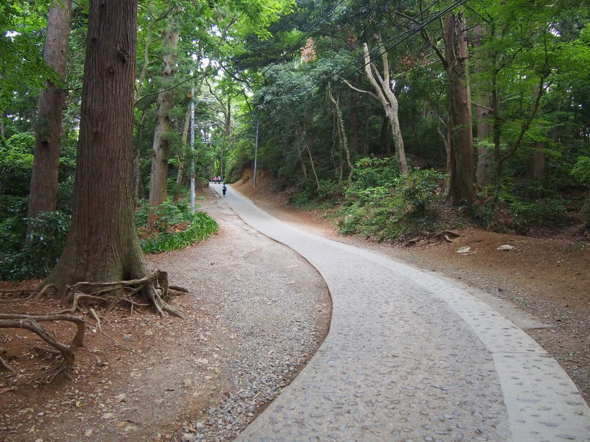 Paved Route Mount Takao