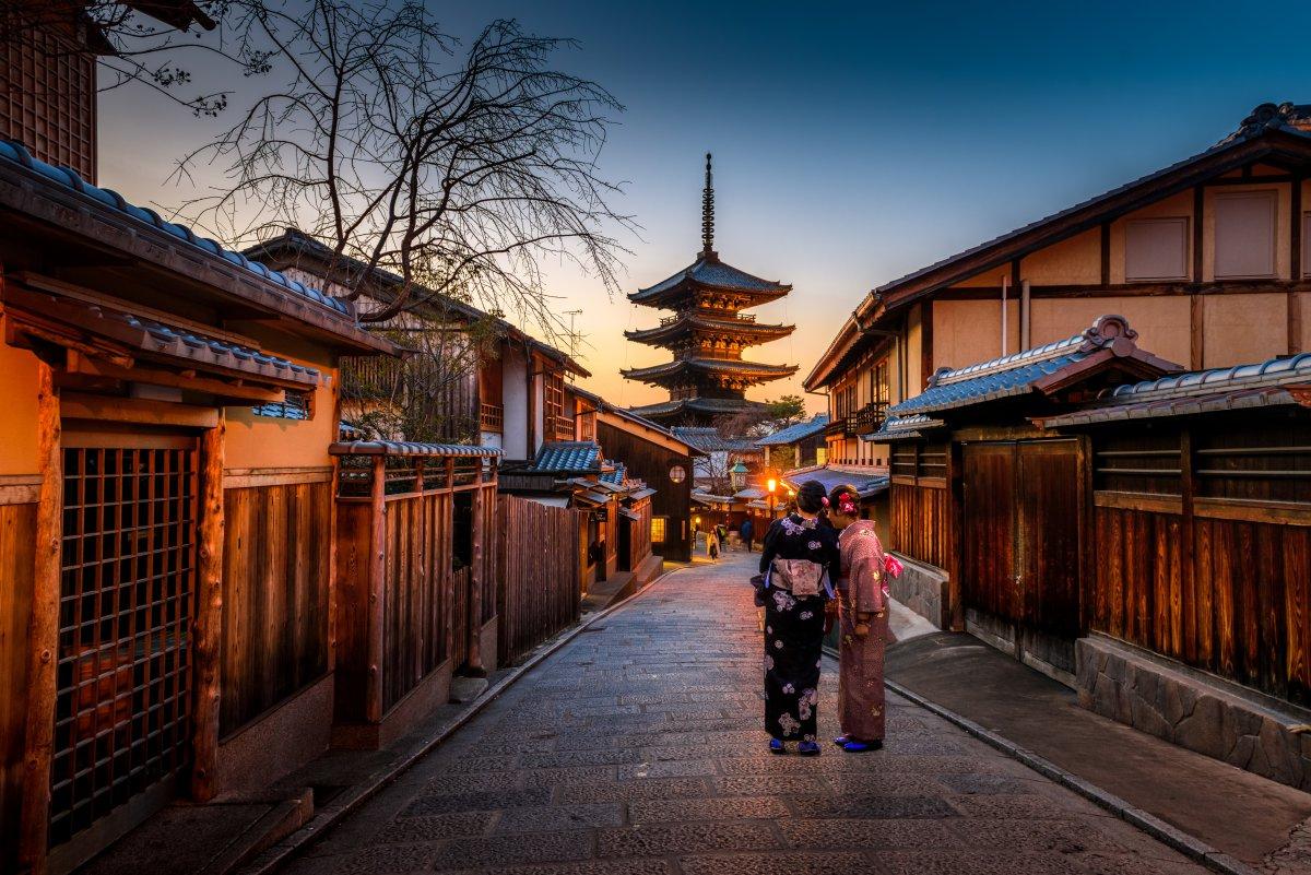 Geisha, Yasaka Pagoda Higashiyama Kyoto