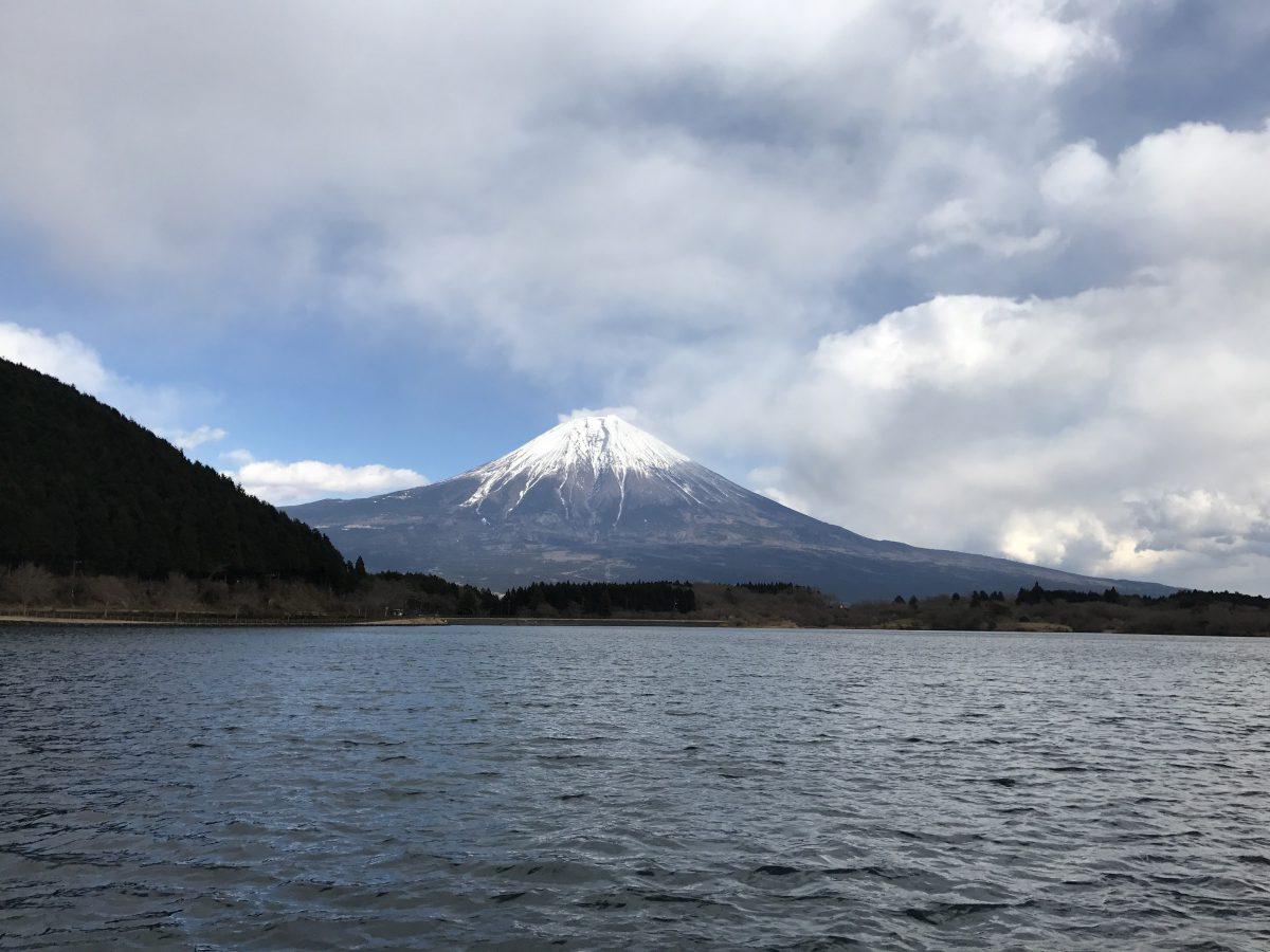 Mount Fuji from Tanuki Lake
