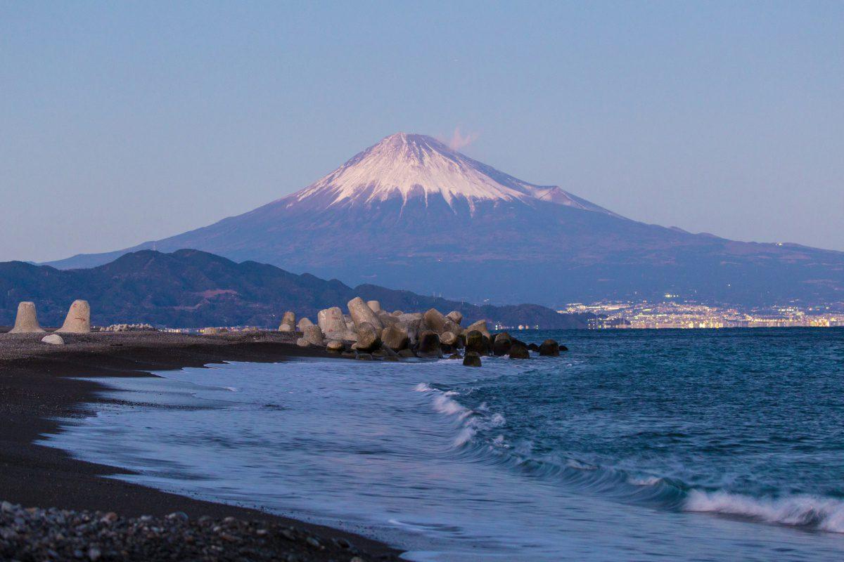 Mount Fuji from Miho no Matsubara