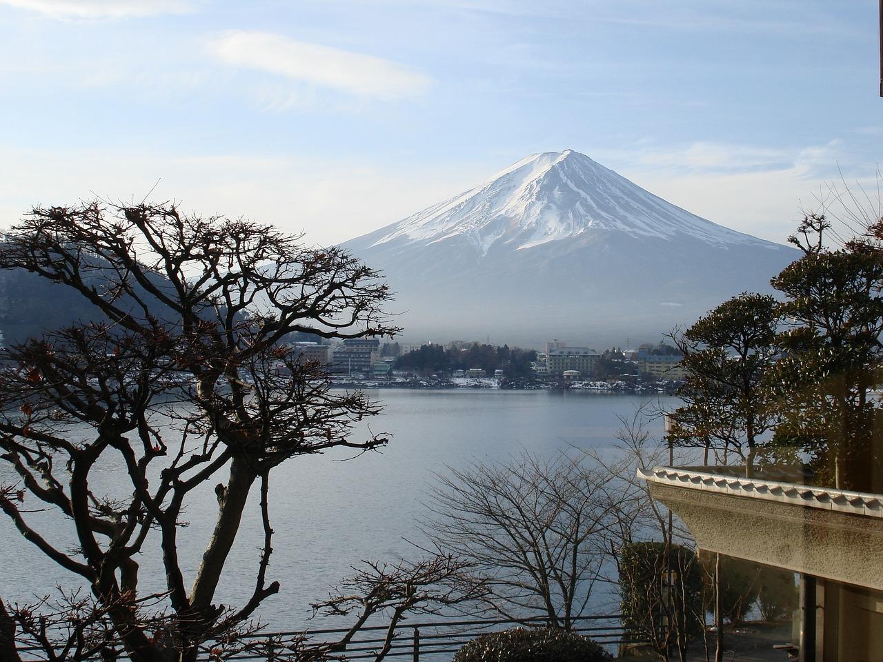 Mt Fuji scenery