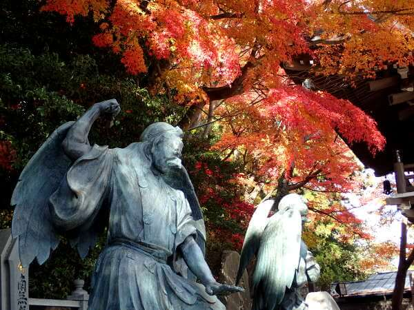 Autumn colours at Mount Takao