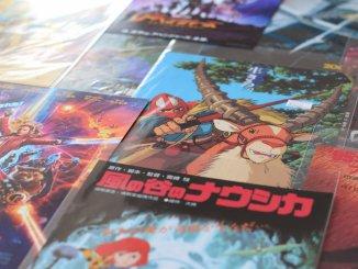 Ghibli Nausica promotional material