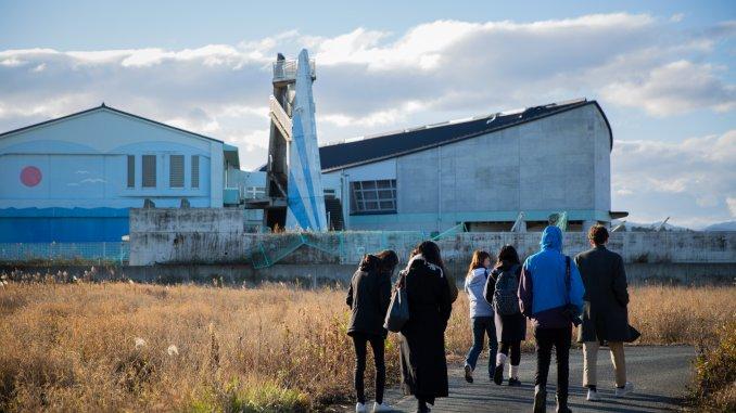 Visite de Fukushima