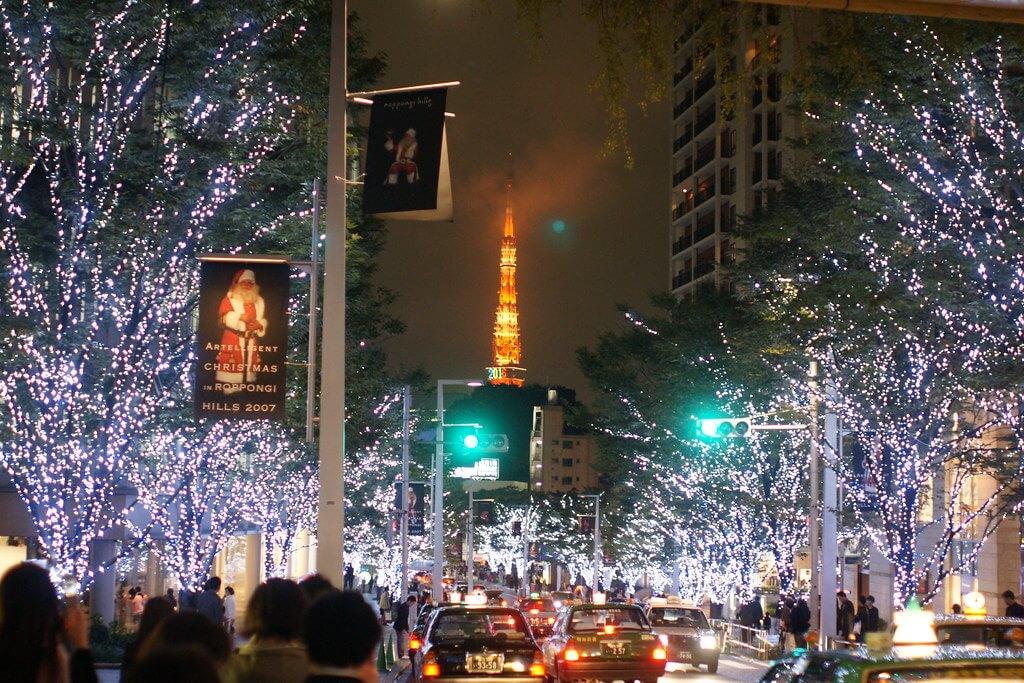 Christmas light Roppongi -