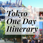 Our Suggested Itinerary in Tokyo For 7 hours -How to Enjoy Tokyo in One Day!