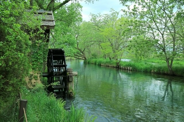 Water mill nagano