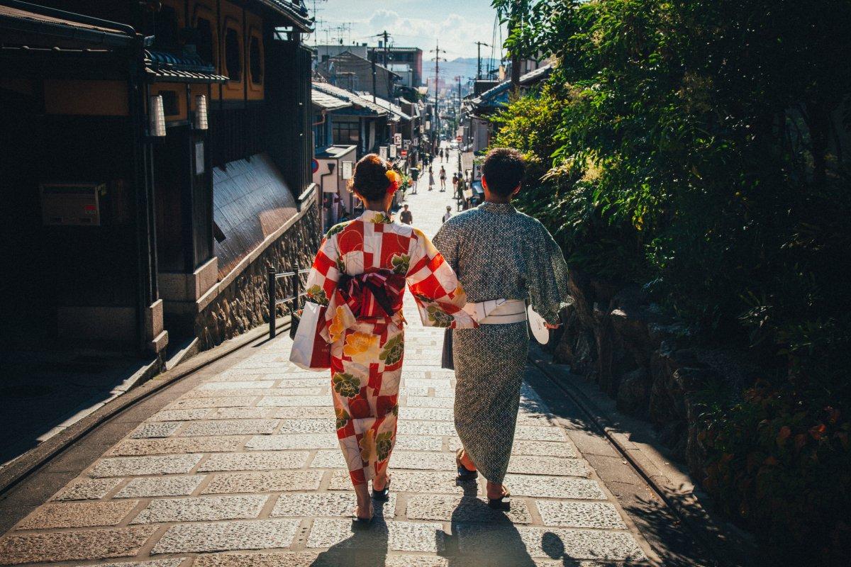 Kimono, Yakuta Kyoto