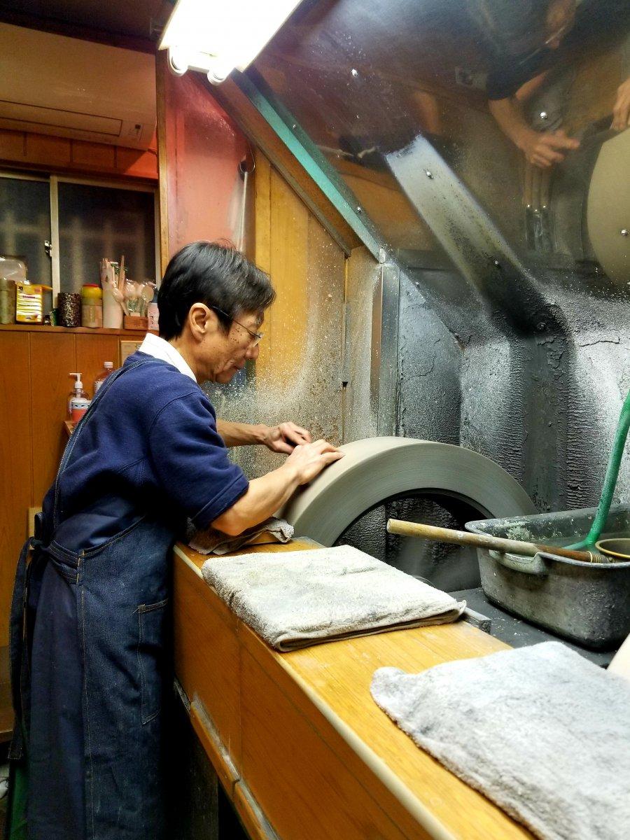 Yutaka Yazaki Tsukiji Knife Tour